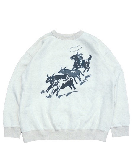 "PENNEY'S/""RANCHER""CREW SWEAT."