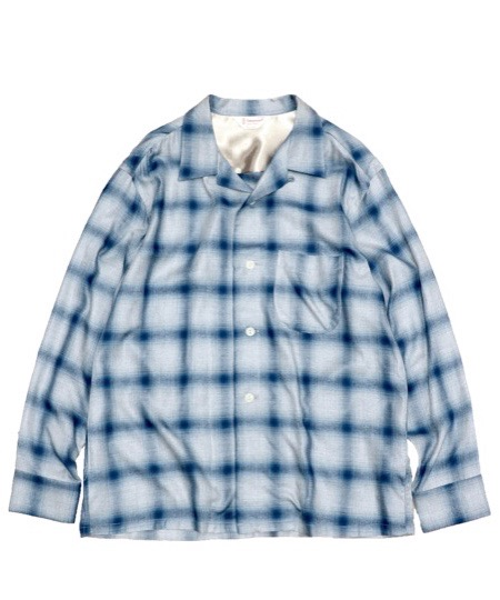 TOWN CRAFT / OMBRE OPEN LS SHIRTS.