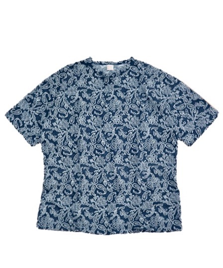 TOWN CRAFT/BIGGEST PAISLEY TEE.