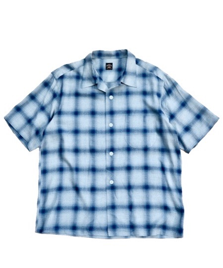 TOWNCRAFT / OMBRE OPEN SS SHIRTS.