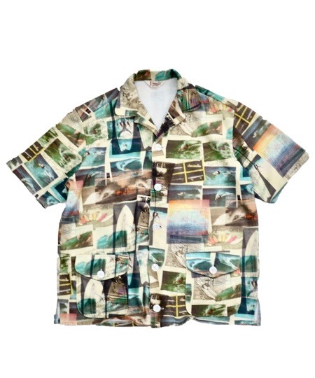 【OCEANS掲載】TOWNCRAFT/PRINTED BEACH SHIRTS.