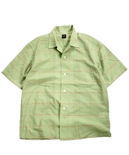 TOWNCRAFT / CLASSIC CHECK SS OPEN SHIRTS.