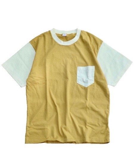 PENNEY'S / 2TONE POCKET TEE.